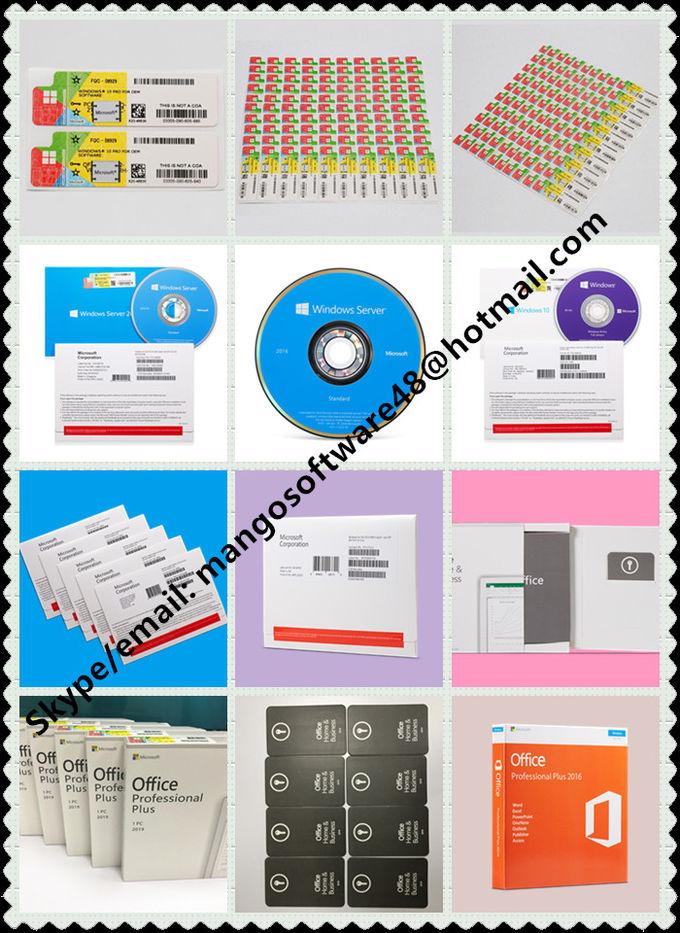 Microsoft Operating System Windows 10 pro Coa License ...
